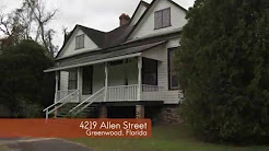 Historic Victorian Home For Sale,  Greenwood, Florida
