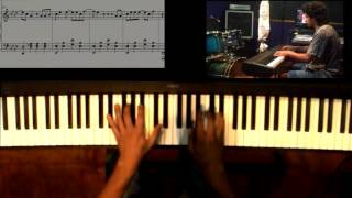 "Dragon ball gt Ending Pianosolo+ SheetMusic ""Caprichosa eres tu"""