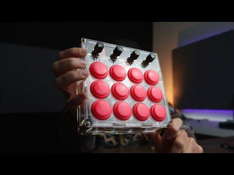 I built an Arcade DIY MIDI controller with an Arduino Pro Micro: The Fliper