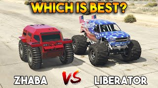 GTA 5 ONLINE : ZHABA VS LIBERATOR (WHICH IS BEST?)