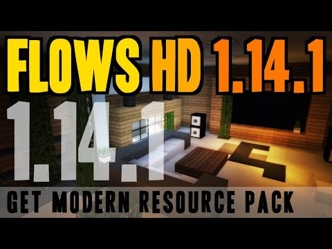 how-to-get-modern-texture-pack-in-minecraft-1.14.1---download-flows-hd-(1.14.1-resource-pack)