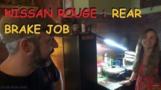 Nissan Rogue: Rear Brake Job