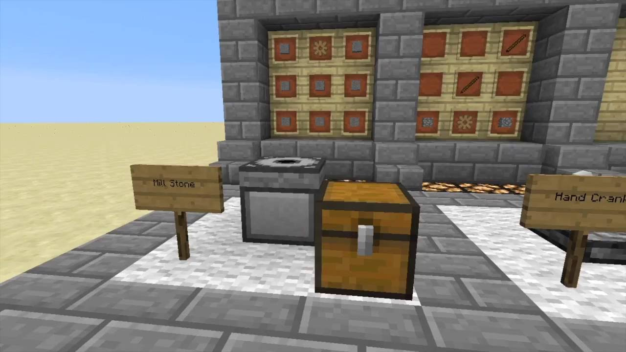 Minecraft - Mod Tutorial - Better With Mods - #1: Mill Stone and Cauldron