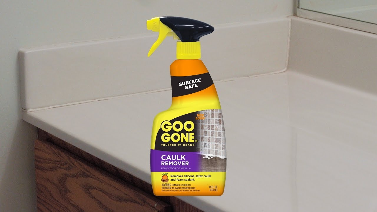 Easy Way To Remove Caulk Goo Gone Remover You