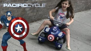 Captain America Toddler Quad from Pacific Cycle