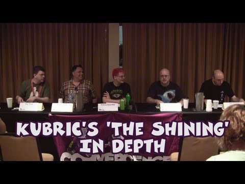 """2013 CONvergence Panel - Kubrick's """"The Shining"""" In Depth"""