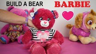 Build A Bear Barbie Plush Doll
