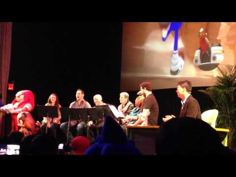 Sonic Boom Table Read at Sonic Boom 2014