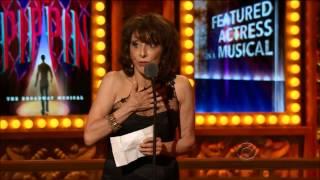 Andrea Martin Wins for PIPPIN YouTube Videos