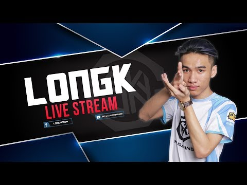 [LIVE] LongK - Train Ké VPT , Team VG PUBG