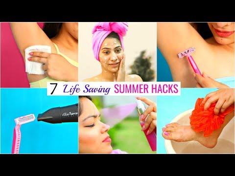 7 Life Saving SUMMER HACKS You Must Try | #Teenagers #Skincare #Beauty #Anaysa