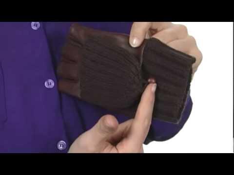 Echo Design Leather/Knit Pop Top Glove SKU: #8039720
