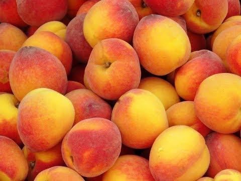 Сколько калорий в персике?