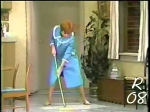 The Carol Burnett Show ~ Mop n' Shine