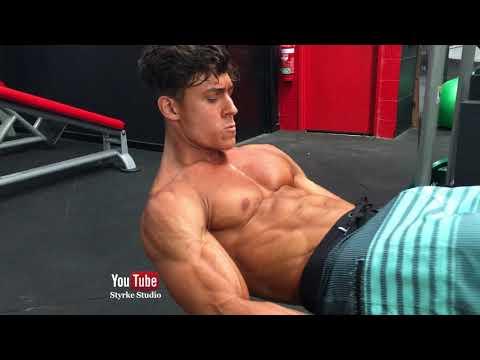 Shredded ABS Workout IFBB Pro Florian Styrke Studio