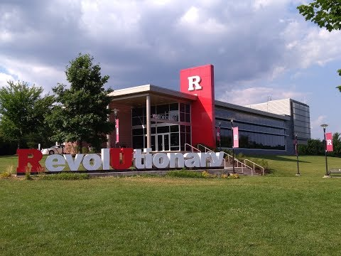 Rutgers Tour (Running with GoPro)