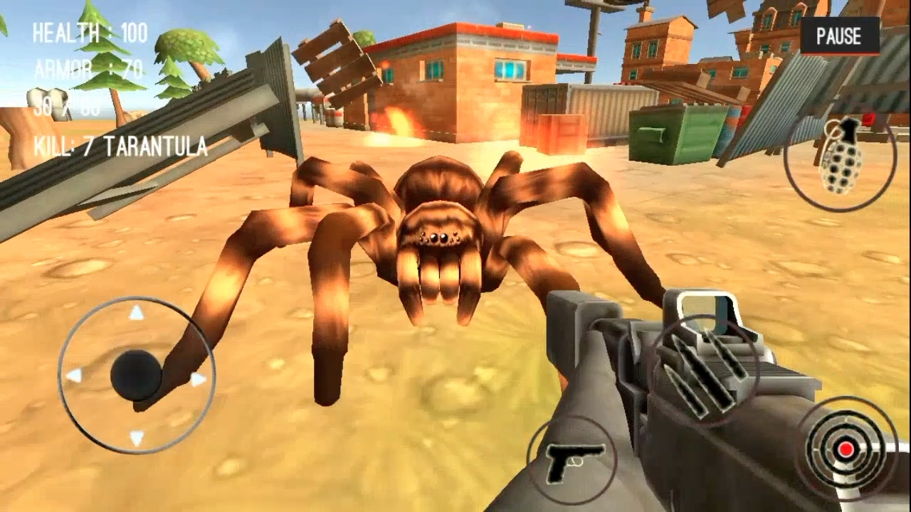 Spider Hunter Amazing City 3D | GIANT SPIDER [iOS/Android]