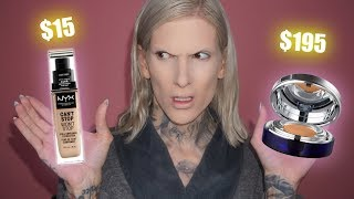 Download $15.00 NYX FOUNDATION VS. $195 CAVIER FOUNDATION Mp3 and Videos