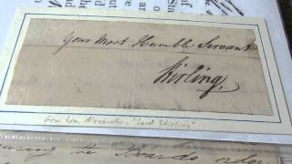 Lord Stirling (Col William Alexander) Signed Document