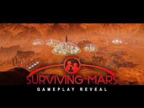 Surviving Mars - Gamescom Gameplay Reveal Trailer