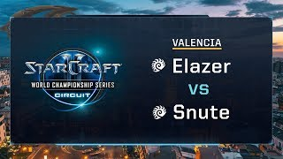 Elazer vs Snute ZvZ - Grand-final - WCS Valencia 2017 - StarCraft II