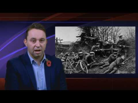 First World War Remember and the Angels of Mons