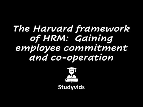 2201C  The Harvard Framework
