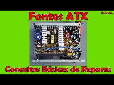 Fontes ATX - Conceitos básicos de reparos!!