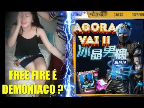GAROTA AFIRMA VER DEMONIOS NO FREE FIRE 😬/ SKIN DA MARIONETE CHEGANDO
