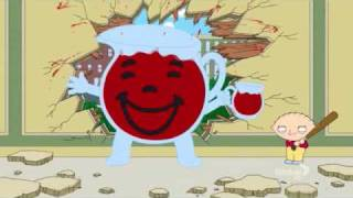 family guy evil stewie kills kool aid man