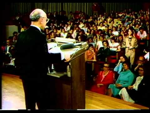 Milton Friedman - The role of government in a free society (Q&A)