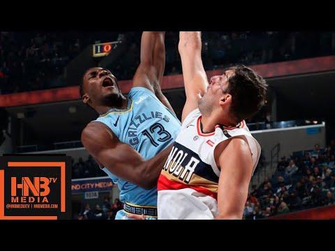 Memphis Grizzlies vs New Orleans Pelicans Full Game Highlights | 01/21/2019 NBA Season