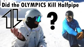 Did the Olympics Kill Halfpipe?  Thursday Thoughts