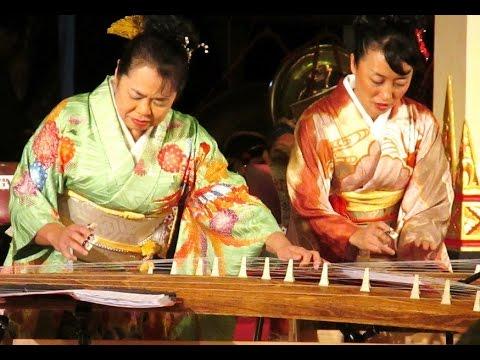 KOTO Concert - Japanese Traditional Music Instrument - Song: BENGAWAN SOLO Versi Jepang [HD]