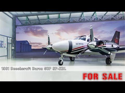 Beechcraft Baron 58P SP-KBL