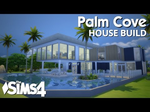 The Sims 4 House Building - Palm Cove (w/ Simified)