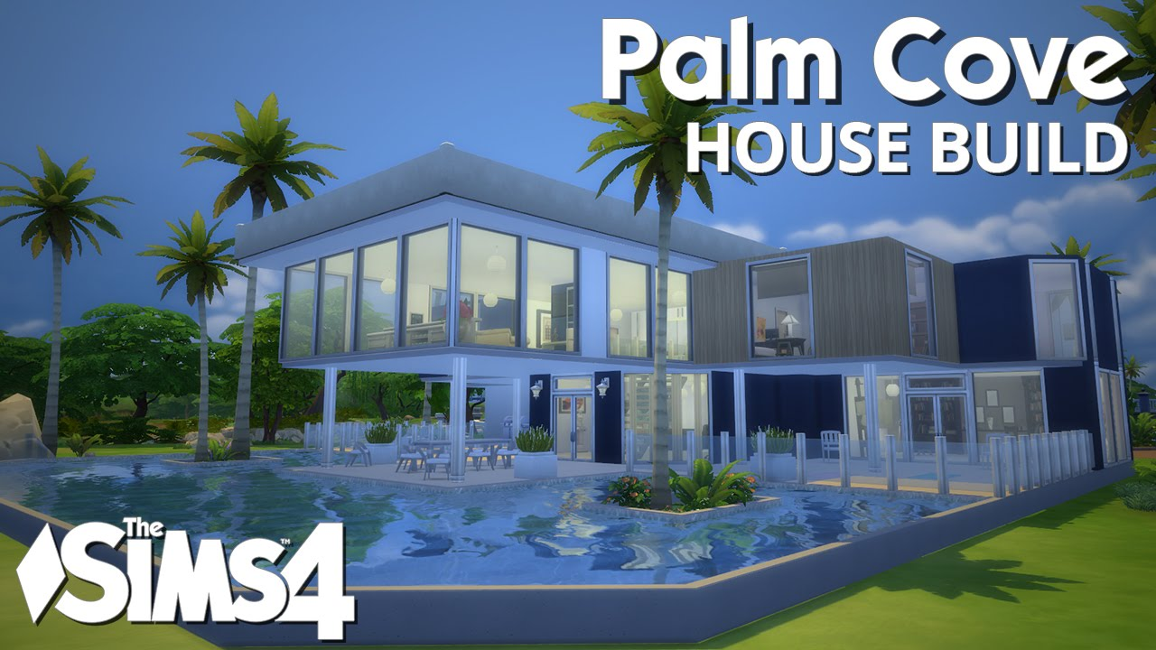 The sims 4 house building palm cove w simified youtube Step by step to build a house