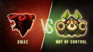 [DWS S2018] OMAE vs OUT OF CONTROL - Journée 14