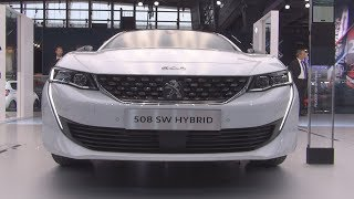Peugeot 508 SW HYbrid (2019) Exterior and Interior