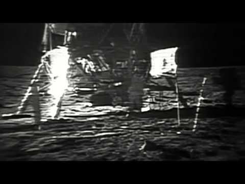 Restored Apollo 11 EVA