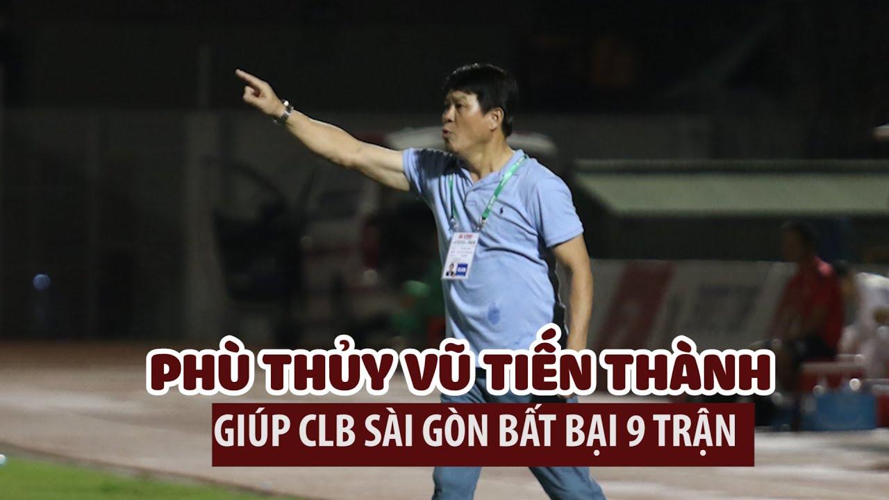 Chủ tịch kiêm HLV trưởng Vũ Tiến Thành cao tay, giúp Sài Gòn chễm chệ giữ ngôi đầu bảng
