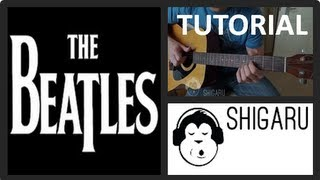 How to play 'Wait' by The Beatles  (Beginners Guitar Tutorial) - www.Shigaru.com