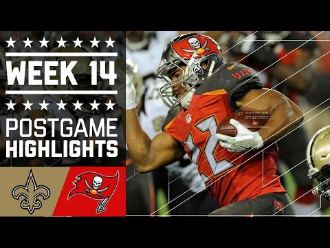 Saints vs. Buccaneers | NFL Week 14 Game Highlights