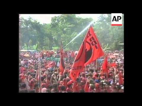 INDONESIA: PRO MEGAWATI SUKARNOPUTRI RALLY