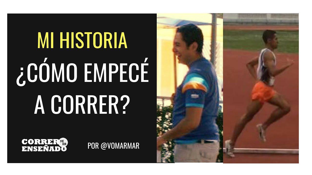 MI HISTORIA SOBRE CÓMO EMPECÉ A CORRER #CORRERMEHAENSEÑADO