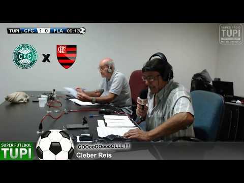 Coritiba 1 x 0 Flamengo - 35° Rodada - Brasileirão - 16/11/2017 - AO VIVO