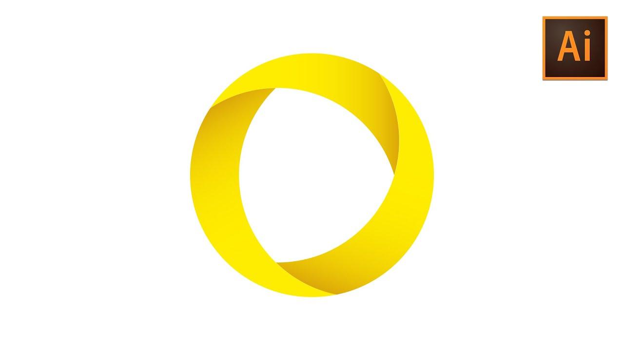 learn how to draw a circular vector logo in adobe illustrator rh youtube com logo design vector graphics logo using vector graphics