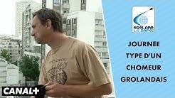 La journée type d'un demandeur d'emploi grolandais - Groland Le Zapoï du 01/07