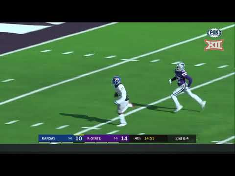 Kansas vs. Kansas State Football HIghlights