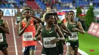 BAREGA SETS WORLD LEAD IN 3000m - Golden Spike Meet in Ostrava 2018 - Mens 3000m